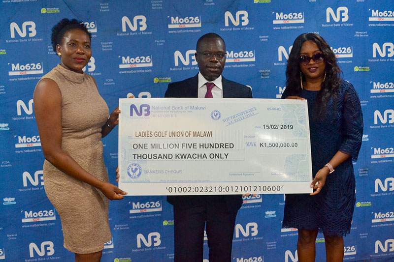 National Bank injects K1.5M into Ladies Golf