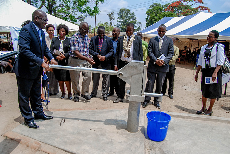 NBM hands over boreholes to Chichiri and Ndirande Primary Schools